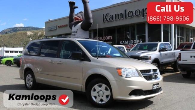 2012 Dodge Grand Caravan SE /Stow-N-Go//Airconditioning/ Minivan/Van