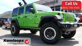 2019 Jeep Wrangler Unlimited Sport S SUV 1C4HJXDN4KW556682