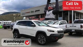 2019 Jeep Cherokee Trailhawk /Demonstrator//4x4//Loaded/ SUV