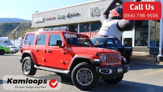 2019 Jeep Wrangler Unlimited Sahara /Demonstrator//4x4//Leather/ SUV