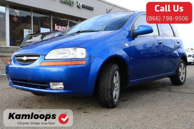 Used 2007 Chevrolet Aveo Ls For Sale Kamloops Bc Stock U7896
