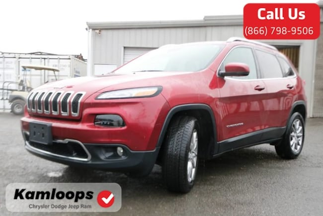 2017 Jeep Cherokee Limited /4x4//Moonroof//Navi/ SUV