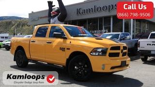 2019 Ram 1500 Classic Express Stinger Yellow Truck Crew Cab 1C6RR7KT3KS649030