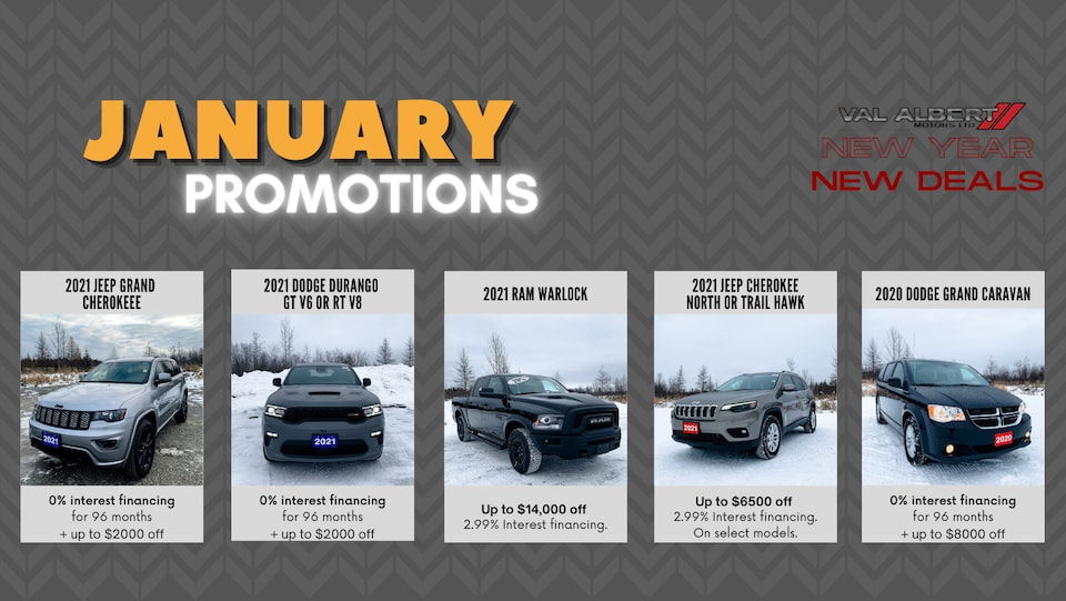 January Promotions!