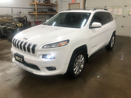 2017 Jeep Cherokee 4x4 Overland Sport Utility