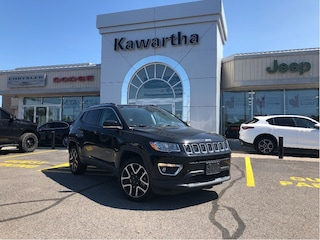 2018 Jeep Compass LIMITED 4X4-LEATHER-GPS-REMOTE START-KEYLESS ENTRY SUV