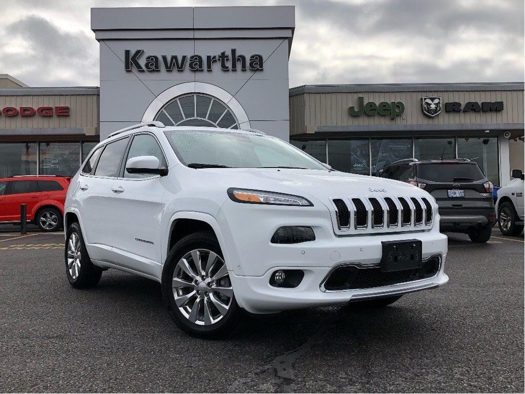 2018 Jeep Cherokee OVERLAND-LEATHER-GPS-SUNROOF-TECH GROUP- SUV