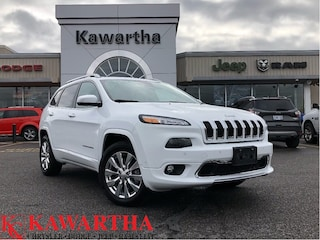 2018 Jeep Cherokee OVERLAND-LEATHER-GPS-SUNROOF-TECH GROUP- SUV