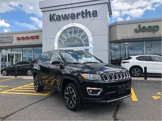 2018 Jeep Compass LIMITED 4X4-LEATHER-GPS-KEYLESS ENTRY-REMOTE START SUV