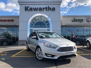 2018 Ford Focus TITANIUM-LEATHER-PHONE TECH-SUNROOF-BACKUP CAMERA- Hatchback