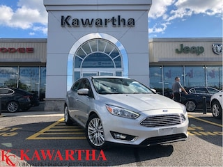 2018 Ford Focus TITANIUM-LEATHER-PHONE TECH-SUNROOF-BACKUP CAMERA- Hatchback