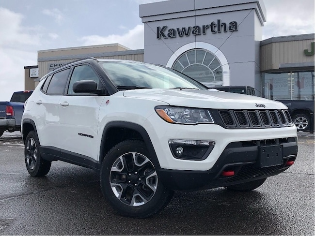 2018 Jeep Compass Trailhawk 4X4-Leather-GPS-Remote Start-Sunroof- SUV