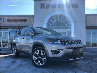 2018 Jeep Compass LIMITED 4X4-LEATHER-BEATS-SUNROOF-GPS- SUV