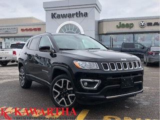 2018 Jeep Compass LIMITED 4X4-LEATHER-GPS-BACKUP CAMERA-SUNROOF- SUV