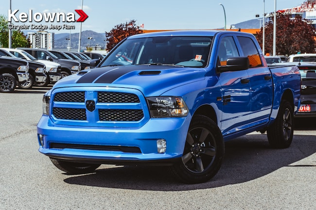 New 2019 Ram 1500 Classic Express Hydro Blue Truck Crew Cab For Sale lease Kelowna, BC