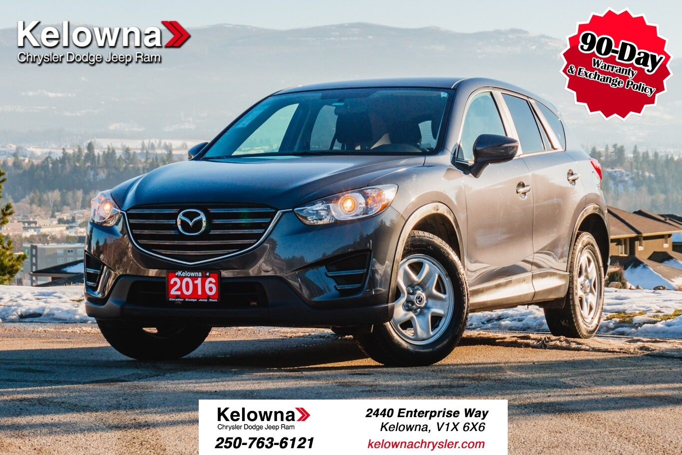 Featured Used 2016 Mazda CX-5 GX SUV for sale in Kelowna, BC near Summerland