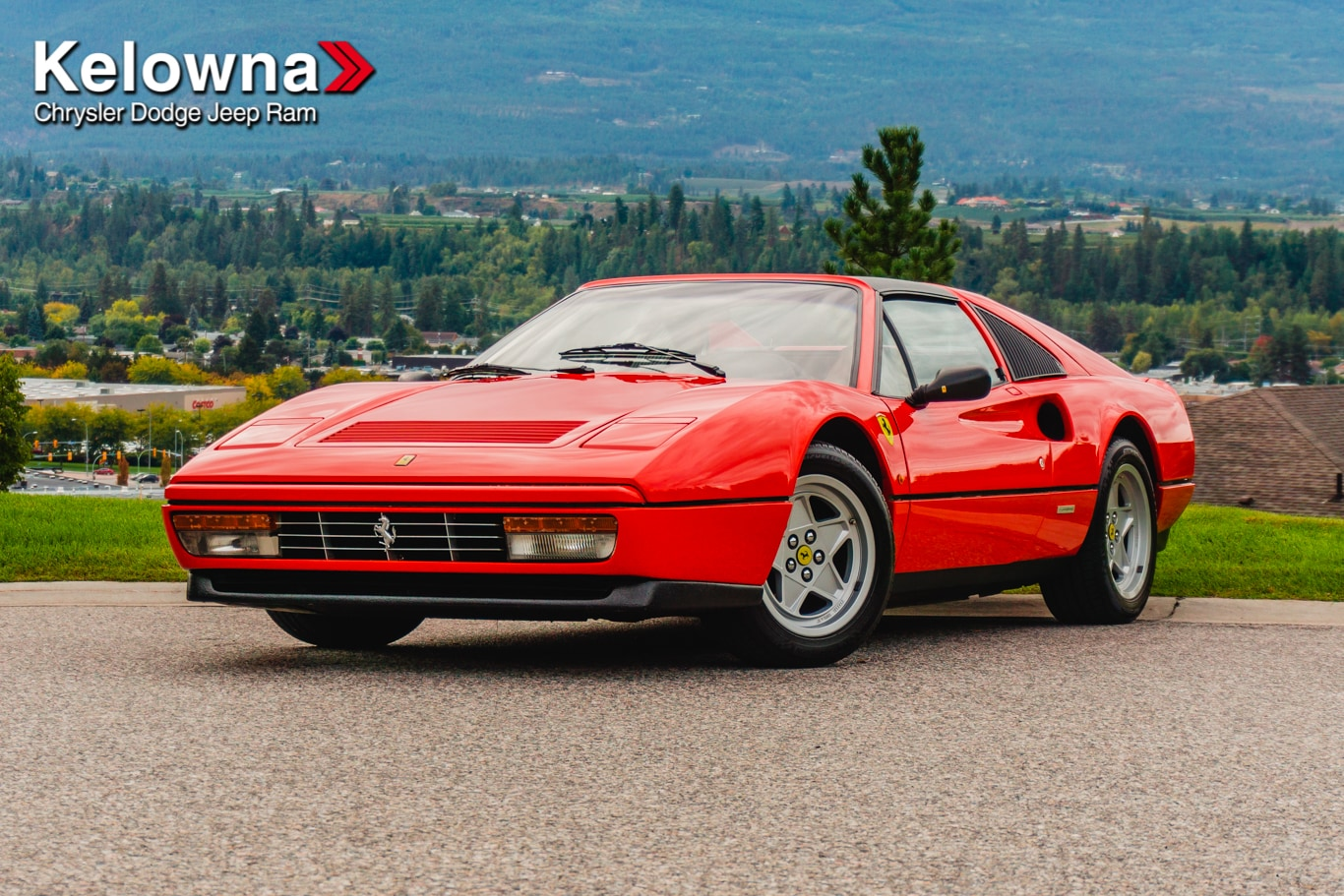 Featured Used 1987 Ferrari 328 for sale in Kelowna, BC near Summerland