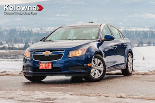 Used 2012 Chevrolet Cruze LT Turbo - GREAT FUEL ECONOMY! MANUAL TRANSMISSION! EXCELLENT CONDITION! Sedan KP20018-W in Kelowna, BC