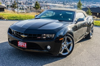 Used 2013 Chevrolet Camaro LT Convertible, Leather, Bluetooth, Backup Camera Décapotable ou cabriolet in Kelowna, BC