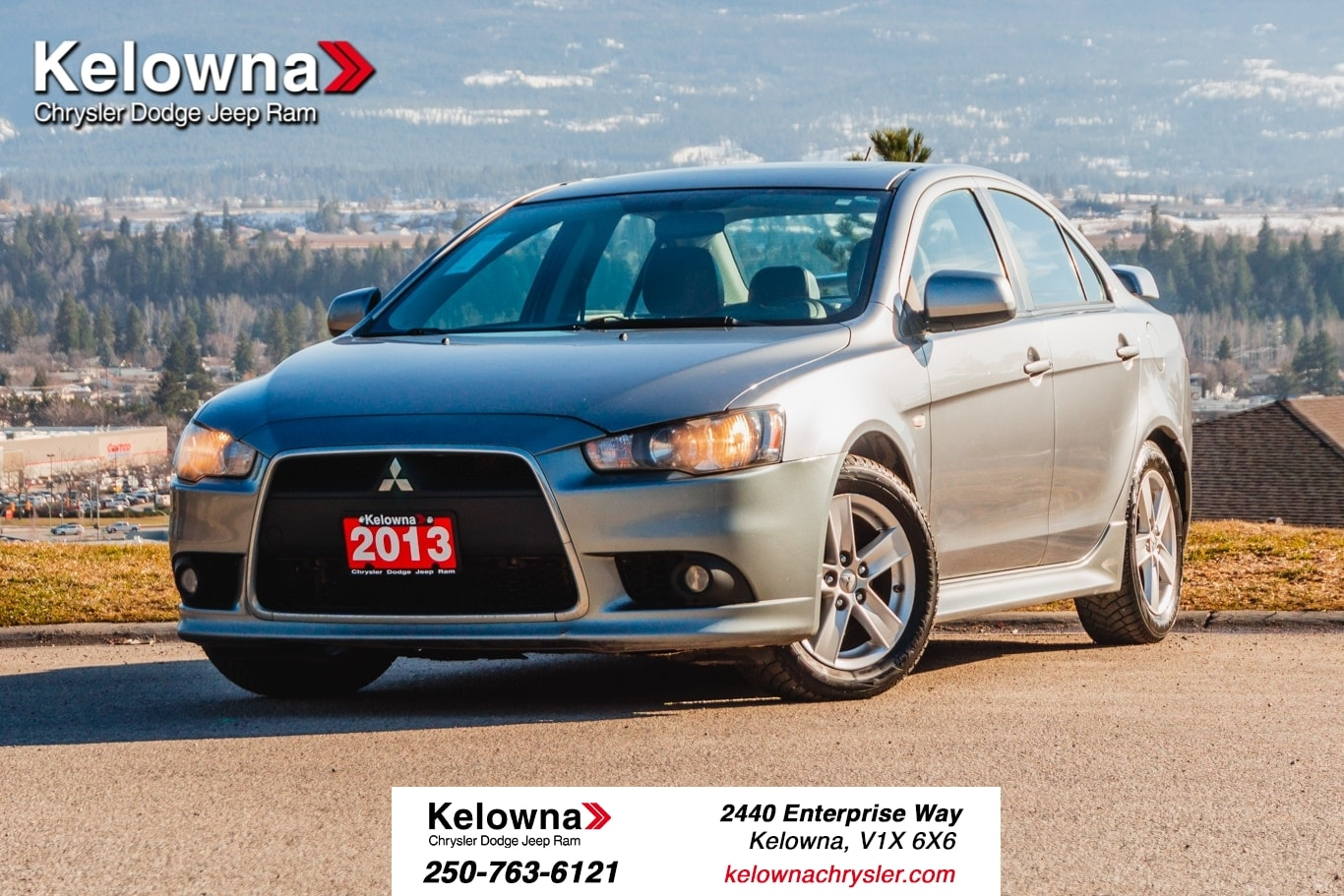 Featured Used 2013 Mitsubishi Lancer SE - AWD! LOCALLY DRIVEN! Sedan for sale in Kelowna, BC near Summerland