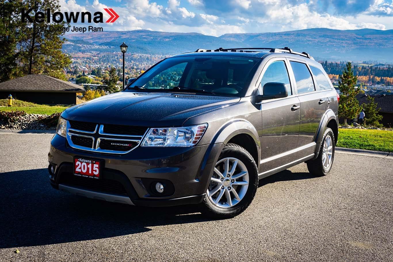 2015 Dodge Journey SXT, 8.4