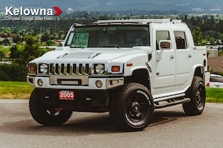 Used 2005 HUMMER H2 SUT Leather, Sunroof, Lift New Tires!! SUV KP18129A in Kelowna, BC