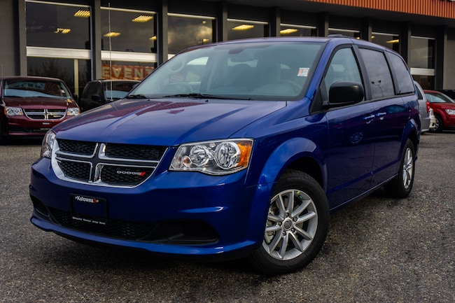 New 2019 Dodge Grand Caravan SXT 2WD -  Uconnect - $186.22 B/W Van For Sale lease Kelowna, BC