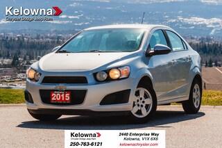 Used 2015 Chevrolet Sonic LS Auto Sedan KP20037-W in Kelowna, BC