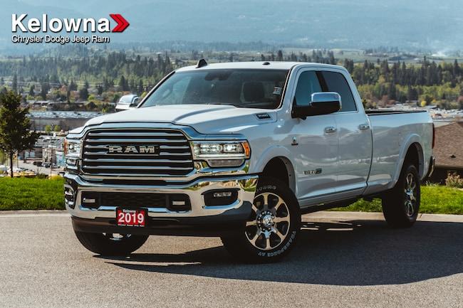 New 2019 Ram New 3500 Laramie Longhorn Truck Crew Cab For Sale lease Kelowna, BC