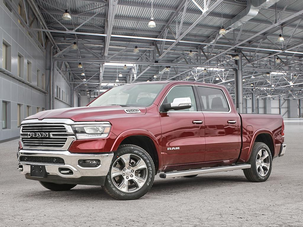 Featured New 2019 Ram All-New 1500 Laramie - Hemi V8 - Leather Seats - $437.70 B/W Truck Crew Cab for sale in Kelowna, BC near Summerland