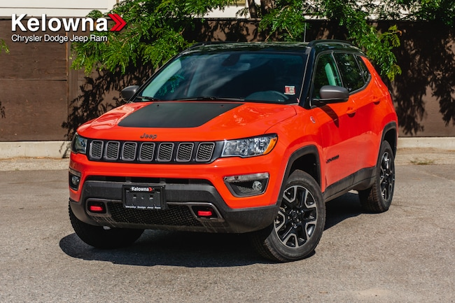 New 2019 Jeep Compass Trailhawk SUV For Sale lease Kelowna, BC