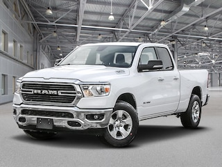 New 2019 Ram All-New 1500 Big Horn Truck Quad Cab K19440 in Kelowna, BC