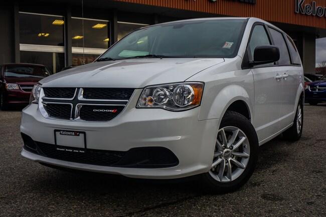 New 2019 Dodge Grand Caravan SXT 2WD - Navigation - $212.02 B/W Van For Sale lease Kelowna, BC