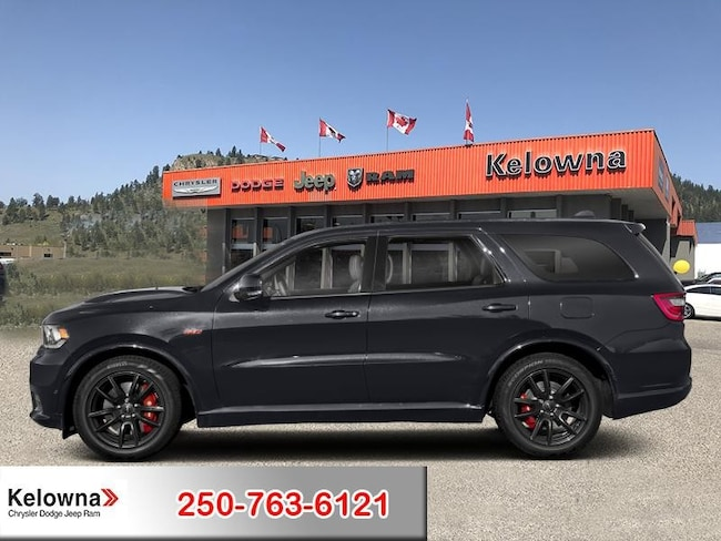 New 2018 Dodge Durango SRT - Leather Seats - Sunroof - $414.13 B/W SUV For Sale lease Kelowna, BC