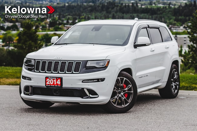 2014 Jeep Grand Cherokee SRT, Leather Seats, Nav, 475HP, Pano-Sunroof SUV