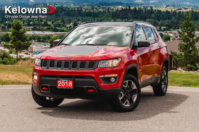 2018 Jeep Compass Trailhawk, Pano-Sunroof, Nav, Leather SUV