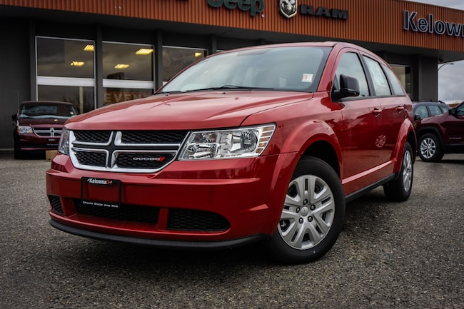 New 2018 Dodge Journey Canada Value Pkg - $131.87 B/W SUV For Sale lease Kelowna, BC