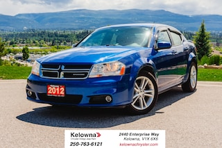 Used 2012 Dodge Avenger SXT - POWER SEATS! ALLOY WHEELS! Sedan K20045B-W in Kelowna, BC
