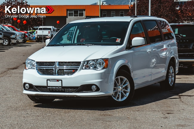 New 2019 Dodge Grand Caravan SXT Premium Plus Van For Sale lease Kelowna, BC