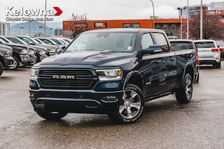 New 2019 Ram All-New 1500 Laramie Truck Crew Cab K19292 in Kelowna, BC
