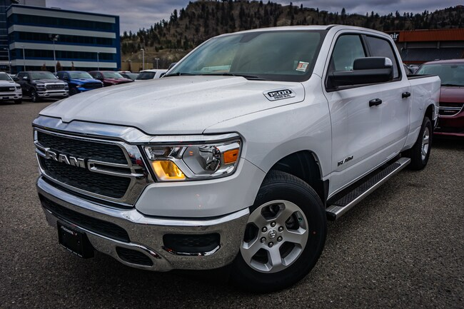 New 2019 Ram All-New 1500 Tradesman - Hemi V8 - $301.88 B/W Truck Crew Cab For Sale lease Kelowna, BC