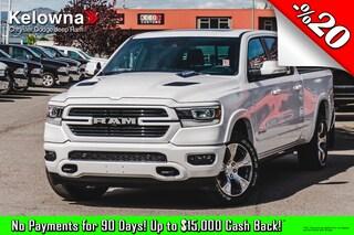 New 2019 Ram All-New 1500 Laramie Truck Crew Cab K19370 in Kelowna, BC