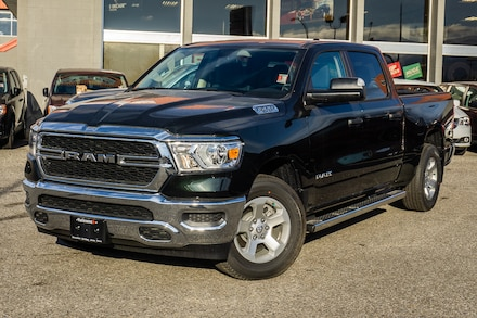 Featured New 2019 Ram All-New 1500 Tradesman - Running Boards - $302.46 B/W Truck Crew Cab for sale in Kelowna, BC near Summerland