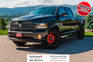 Used 2014 Ram 1500 Sport - LEATHER SEATS! WELL MAINTAINED! Truck K19549B in Kelowna, BC