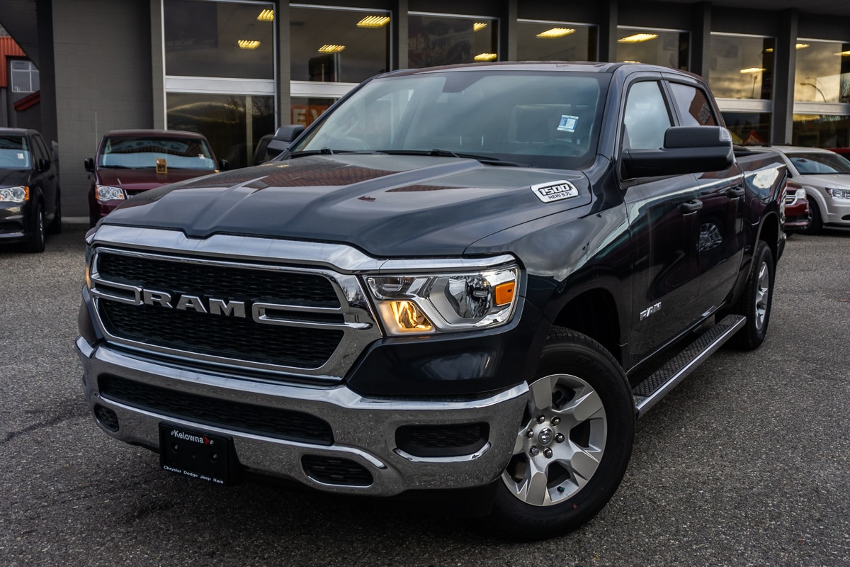 Featured New 2019 Ram All-New 1500 Tradesman - $277.01 B/W Truck Crew Cab for sale in Kelowna, BC near Summerland