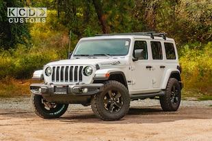 2020 Jeep Wrangler Unlimited Sahara - KCD Customs SUV
