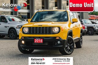 2018 Jeep Renegade North - Demo SUV in Kelowna, BC