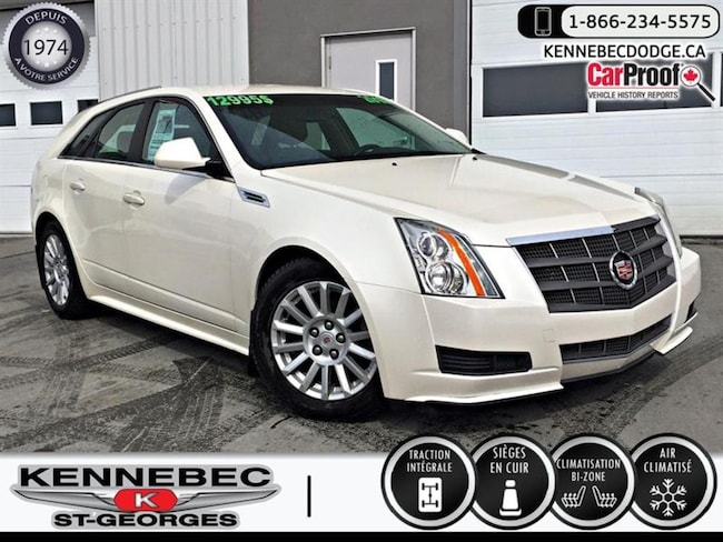 2010 Cadillac CTS 5dr Wgn 3.0L Luxury AWD Familiale