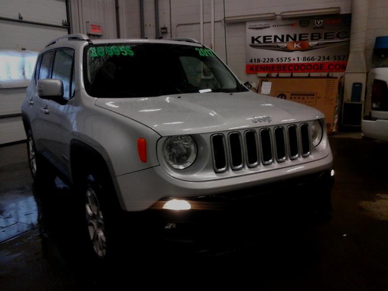 2017 Jeep Renegade Limited (4X4 **MY SKY**, CUIR, ÉCRAN 7,NAVI