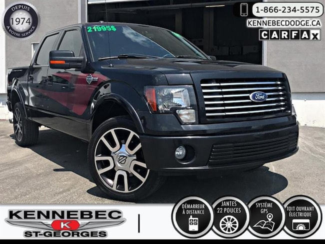 2010 Ford F-150 SuperCrew HARLEY-DAVIDSON Camion